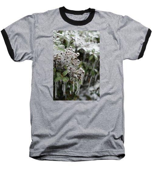 Ice  Baseball T-Shirt by Heidi Poulin