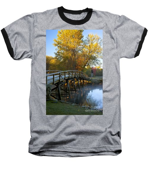 Old North Bridge Concord Baseball T-Shirt