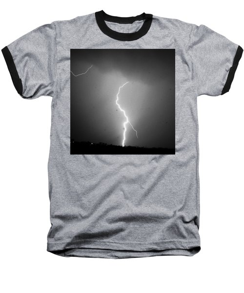 Our 1st Severe Thunderstorms In South Central Nebraska Baseball T-Shirt