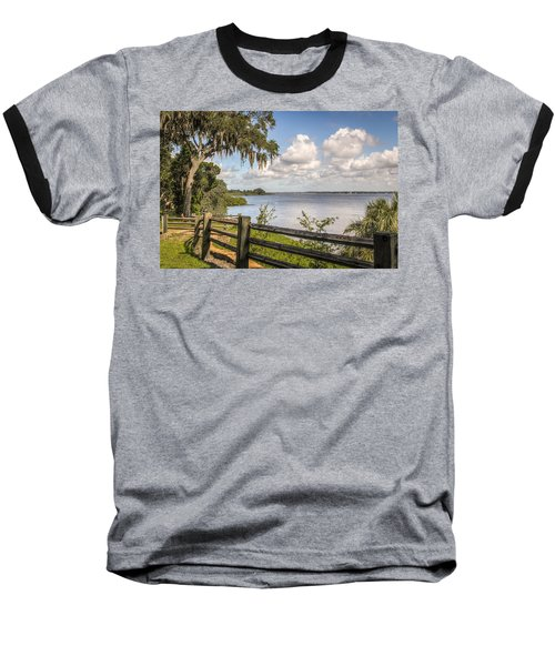 Baseball T-Shirt featuring the photograph Philippe Park by Jane Luxton
