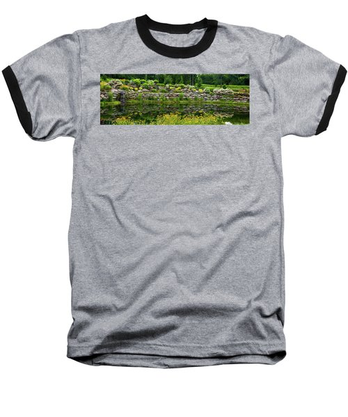 Rocks And Plants In Rock Garden Baseball T-Shirt
