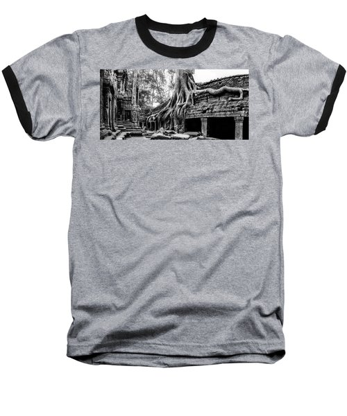 Ta Prohm Ruin Baseball T-Shirt