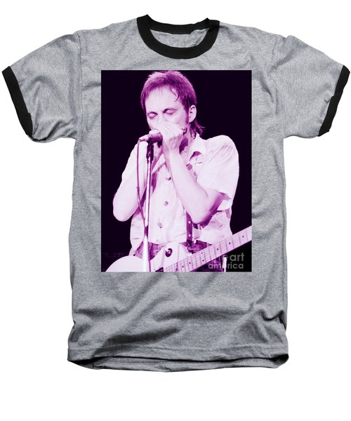 Steve Marriott - Humble Pie At The Cow Palace S F 5-16-80 Baseball T-Shirt
