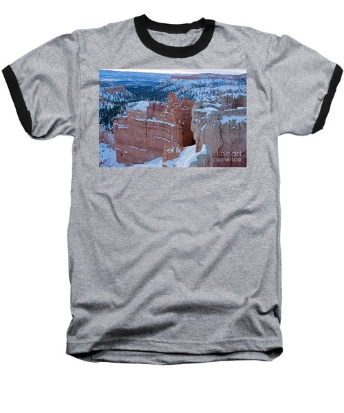 Sunset Point Bryce Canyon National Park Baseball T-Shirt