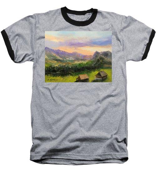 Tatry Mountains- Poland Baseball T-Shirt