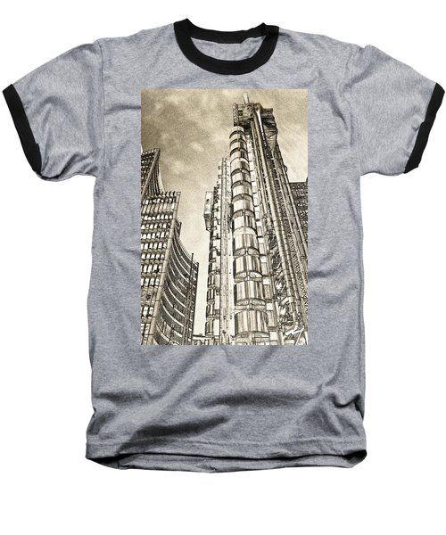 Willis Group And Lloyd's Of London Art Baseball T-Shirt