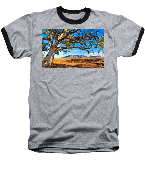 Wilpena Pound Baseball T-Shirt by Bill  Robinson
