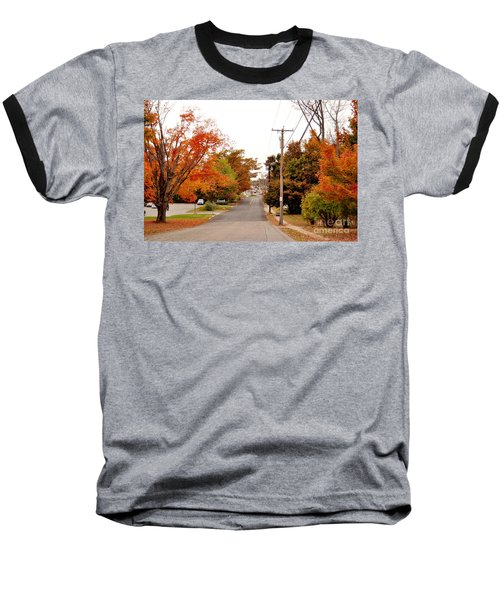 Fall Foliage In New England Baseball T-Shirt