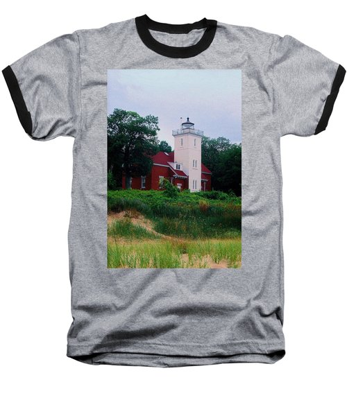 Baseball T-Shirt featuring the photograph 40 Mile Light by Daniel Thompson