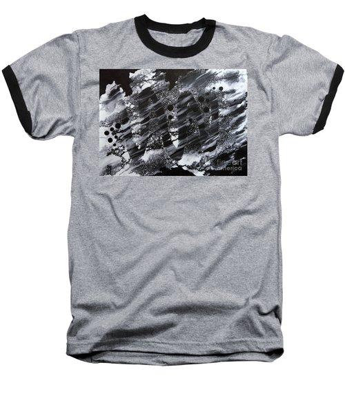 Curve Line Baseball T-Shirt