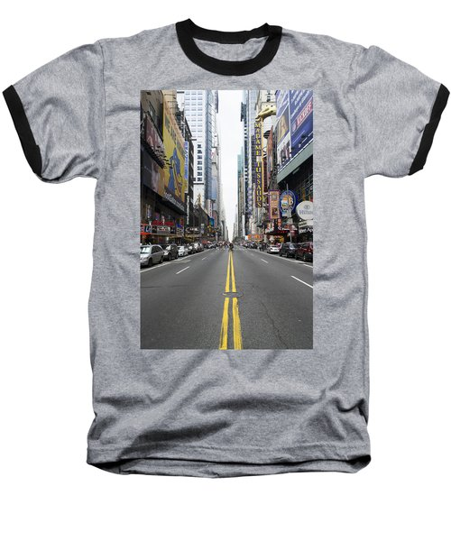 42nd Street - New York Baseball T-Shirt
