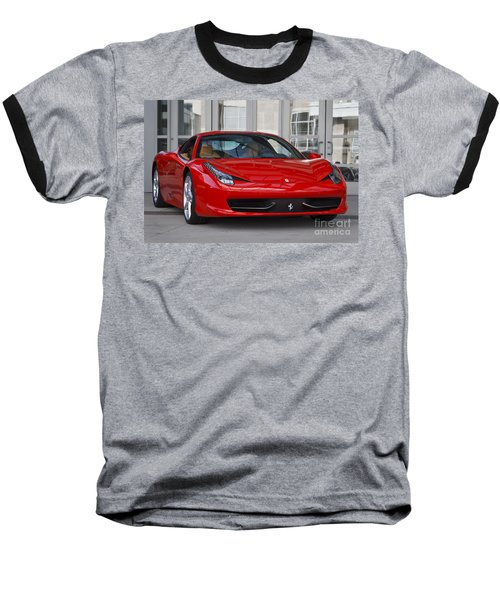 458 Italia Baseball T-Shirt