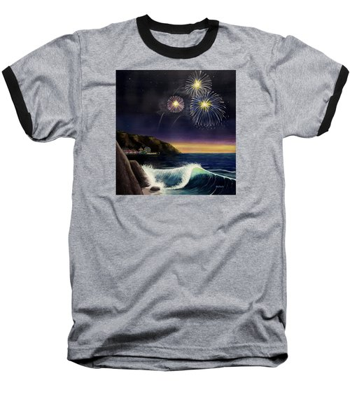 4th On The Shore Baseball T-Shirt by Jack Malloch