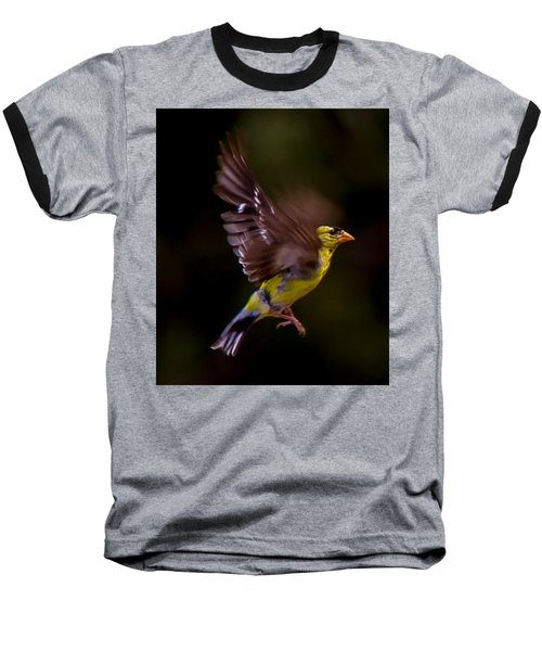 Gold Finch Baseball T-Shirt