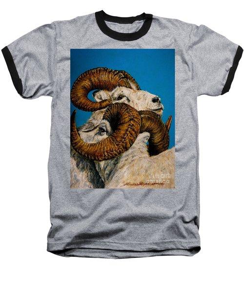 Horns Baseball T-Shirt