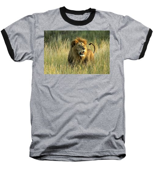 King Of The Savanna Baseball T-Shirt