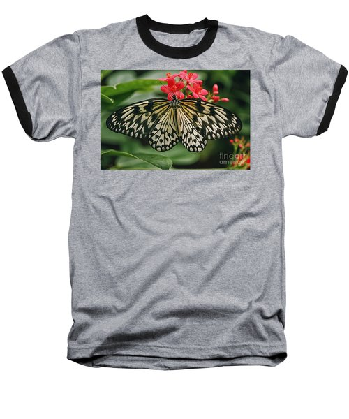 Paper Kite Butterfly Baseball T-Shirt