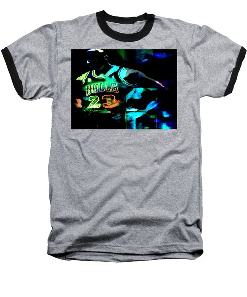 Baseball T-Shirt featuring the digital art 5 Seconds Left by Brian Reaves