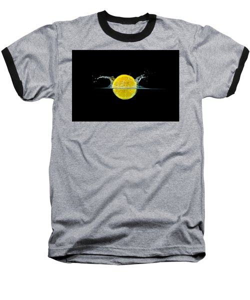Splashing Lemon Baseball T-Shirt
