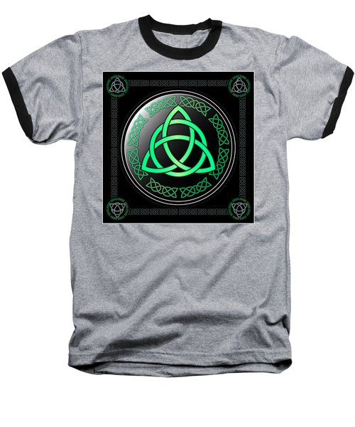 Triquetra Baseball T-Shirt by Ireland Calling