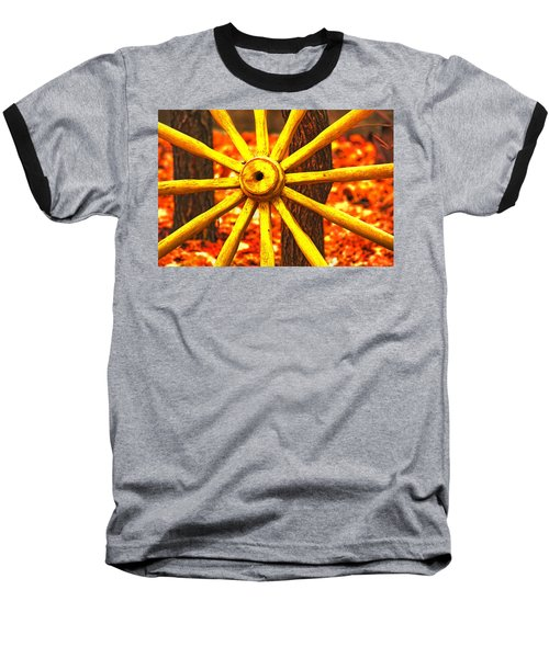 Wheels Of Time Baseball T-Shirt