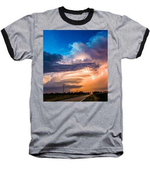 Wicked Good Nebraska Supercell Baseball T-Shirt