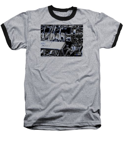 Baseball T-Shirt featuring the digital art 502 by Chris Thomas