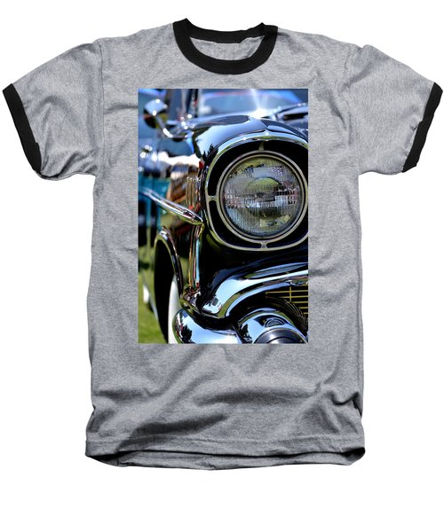 Baseball T-Shirt featuring the photograph 50's Chevy by Dean Ferreira