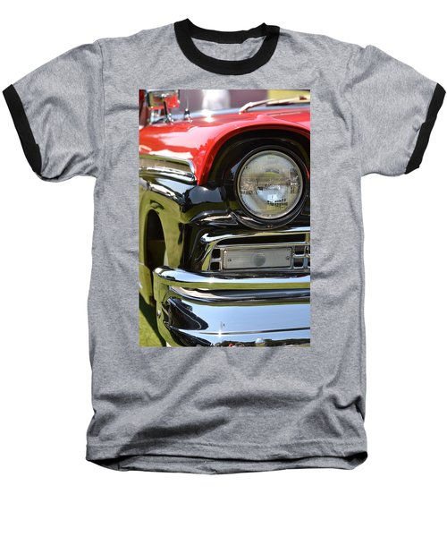 Baseball T-Shirt featuring the photograph 50's Ford by Dean Ferreira