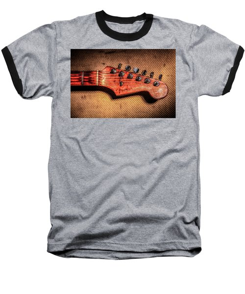 Baseball T-Shirt featuring the photograph '56 Stratocaster by Ray Congrove