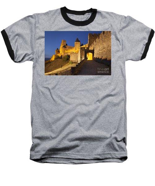 Medieval Carcassonne Baseball T-Shirt
