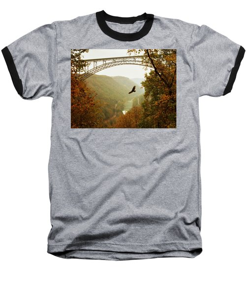 New River Gorge Bridge Baseball T-Shirt