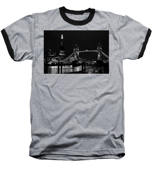 The Shard And Tower Bridge Baseball T-Shirt