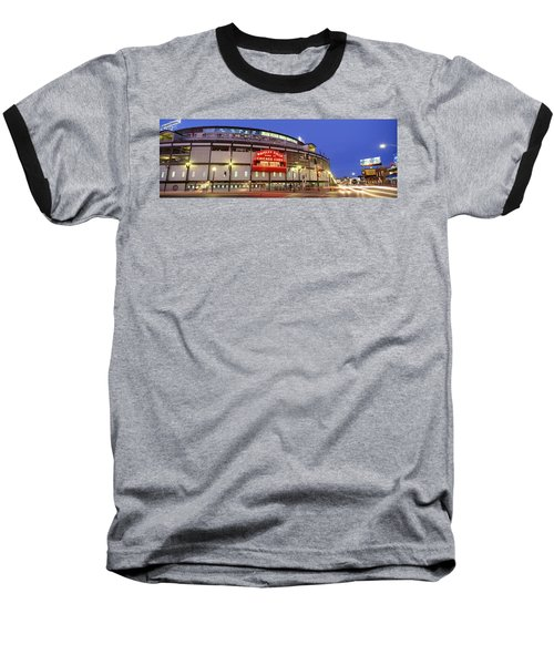 Usa, Illinois, Chicago, Cubs, Baseball Baseball T-Shirt by Panoramic Images