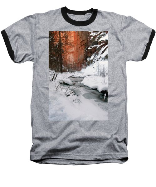16x20 Canvas - West Fork Snow Baseball T-Shirt