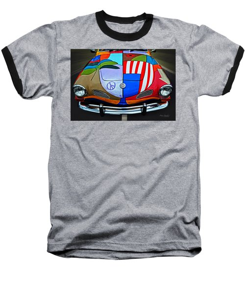 60s Wild Ride Baseball T-Shirt