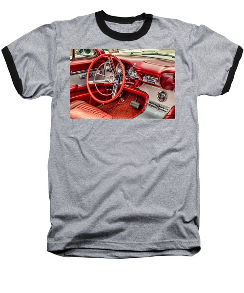 62 Thunderbird Interior Baseball T-Shirt