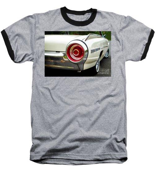 62 Thunderbird Tail Light Baseball T-Shirt by Jerry Fornarotto