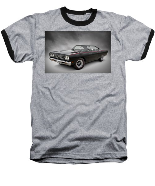 '69 Roadrunner Baseball T-Shirt by Douglas Pittman