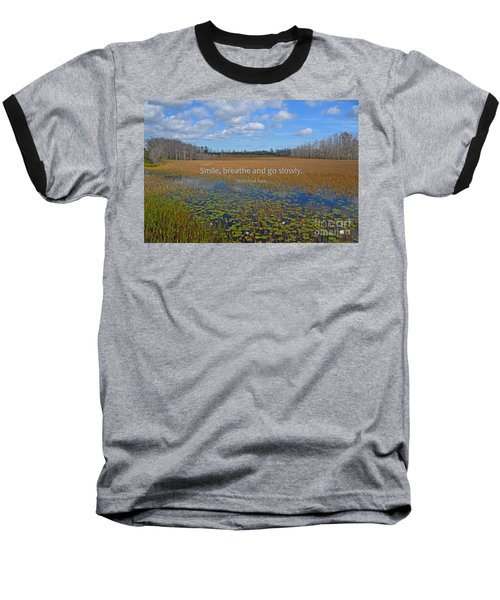 69- Thich Nhat Hanh Baseball T-Shirt by Joseph Keane