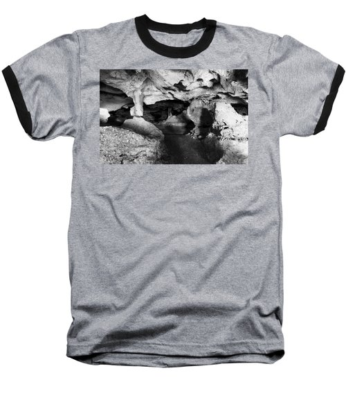 Green Grotto Caves Baseball T-Shirt