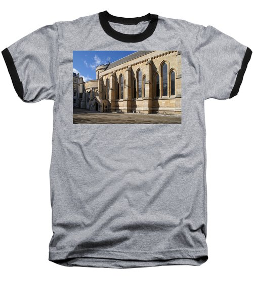 Knights Templar Temple In London Baseball T-Shirt by Carol Ailles