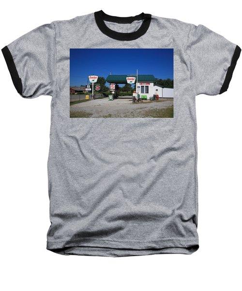 Route 66 Sinclair Station Baseball T-Shirt