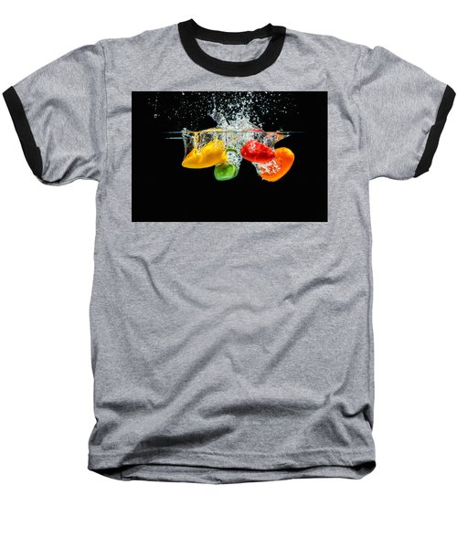 Splashing Paprika Baseball T-Shirt