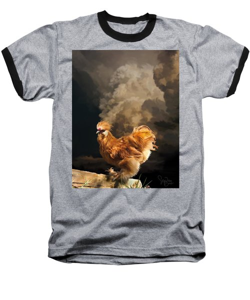 7. Thunder Buff Baseball T-Shirt