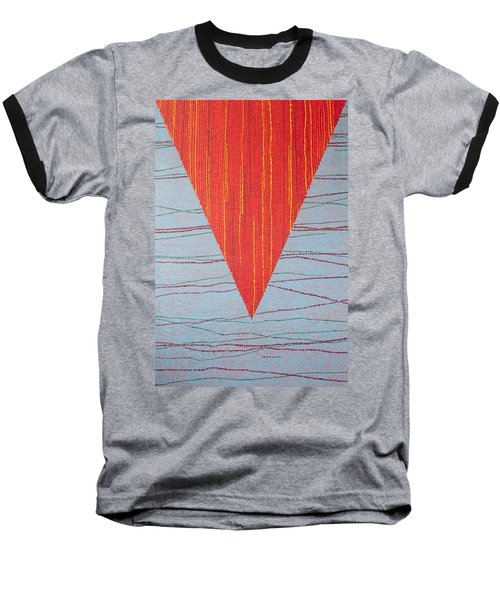 Baseball T-Shirt featuring the painting Untitled by Kyung Hee Hogg