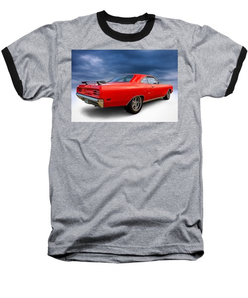 '70 Roadrunner Baseball T-Shirt by Douglas Pittman