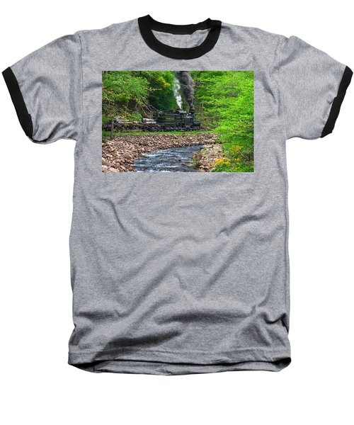 Cass Scenic Railroad Baseball T-Shirt