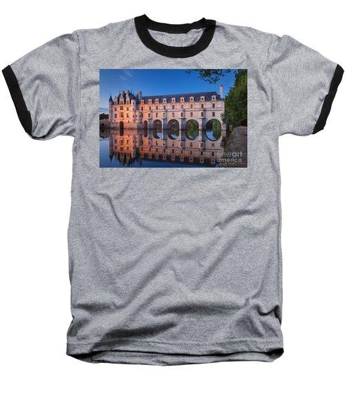 Chateau Chenonceau Baseball T-Shirt