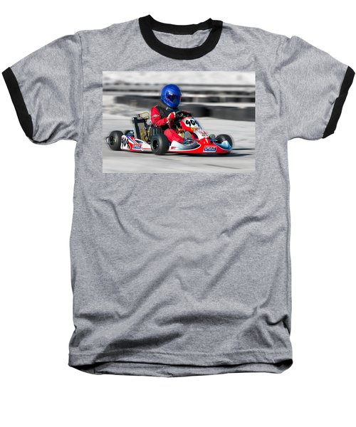 Racing Go Kart Baseball T-Shirt